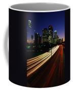 Rush Hour Harbor Freeway Los Angeles Ca Coffee Mug