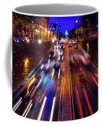 Rush Hour Traffic On North Capitol Show Coffee Mug