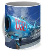 Russian Aircraft Mig At Interpid Museum Coffee Mug