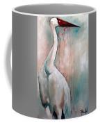 Russian Crane Coffee Mug