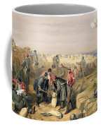 Russian Rifle Pit , Plate From The Seat Coffee Mug
