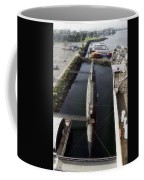 Russian Submarine Top View Coffee Mug