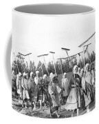 Russian Women Go To The Fields Coffee Mug