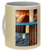 Rust And Rocks Rectangles Coffee Mug