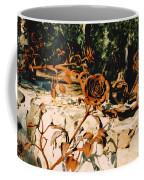 Rust And Roses Coffee Mug