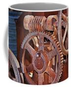 Rust Gears And Wheels Coffee Mug