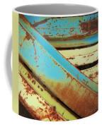 Rust N Turquoise Coffee Mug
