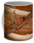 Rust Trapped On A Log - Old Trap - Casper Wyoming Coffee Mug