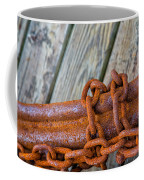 Rusted Chained Coffee Mug