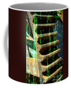 Rusted Gears Abstract Coffee Mug