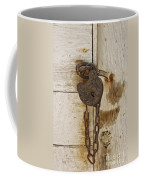 Rusted Lock Coffee Mug
