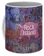 Rusted Rock Island Line Train Car Coffee Mug