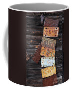 Rusted Usa Coffee Mug