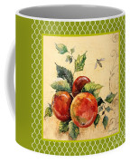 Rustic Apples On Moroccan Coffee Mug