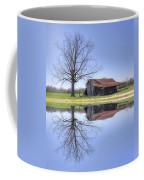 Rustic Barn Coffee Mug by David Troxel