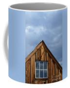 Rustic Cabin Window Coffee Mug
