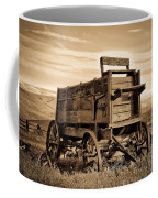 Rustic Covered Wagon Coffee Mug