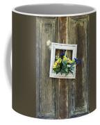 Rustic Door  Coffee Mug