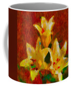 Rustic Lilies 2 Coffee Mug