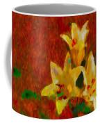 Rustic Lilies Coffee Mug