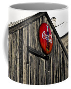 Rustic Coffee Mug by Scott Pellegrin