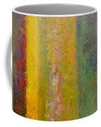 Rustic Stripes With Yellow Coffee Mug by Michelle Calkins