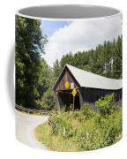 Rustic Vermont Covered Bridge Coffee Mug