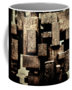 Rusty Art Coffee Mug by Joan Carroll