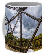 Rusty Bridge In Fall Coffee Mug