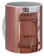 Rusty Door 1 Coffee Mug