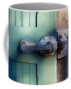Rusty Door Latch Coffee Mug