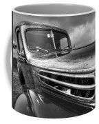 Rusty Ford 1942 Black And White Coffee Mug
