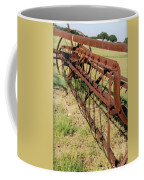 Rusty Hay Rake Coffee Mug