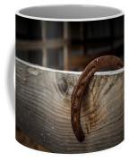 Rusty Horseshoe Coffee Mug