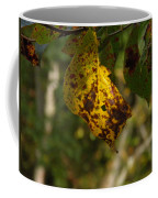 Rusty Leaf Coffee Mug