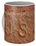 Rusty Letters Usa Coffee Mug