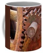 Rusty Metal Gears Coffee Mug
