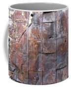 Rusty Plate Door 2 Coffee Mug