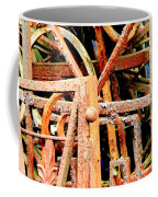 Rusty Railings Coffee Mug