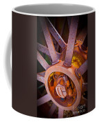 Rusty Spokes Coffee Mug by Inge Johnsson