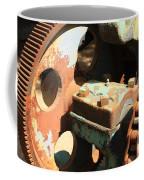 Rusty Wheel Gear Coffee Mug