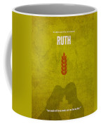 Ruth Books Of The Bible Series Old Testament Minimal Poster Art Number 8 Coffee Mug