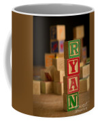 Ryan - Alphabet Blocks Coffee Mug