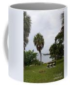Ryckman Park In Melbourne Beach Florida Coffee Mug by Allan  Hughes