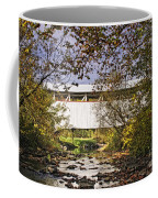 Ryot Covered Bridge And Stream Coffee Mug