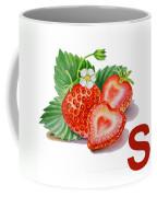 S Art Alphabet For Kids Room Coffee Mug
