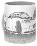 S2000 Sketch Coffee Mug