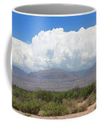 Sacramento Mountains Storm Clouds Coffee Mug