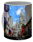 Sacre Coeur In Montmartre Coffee Mug