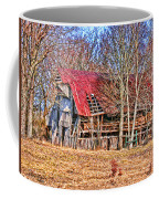Sad Barn -  Featured In 'old Buildings And Ruins' Coffee Mug